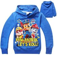 2015-New-Style-Paw-Patrol-Clothing-Boys-T-Shirt-Cotton-Long-sleeved-Shirt-Cartoon-Dog-Girl