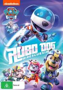 PAW Patrol Robo-dog Rescues DVD Australia
