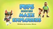 Pups Save the Maze Explorers (HQ)
