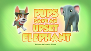 Pups Save an Upset Elephant (HQ)