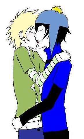 File:Craig x tweek kiss colored by mebemyself247.jpg
