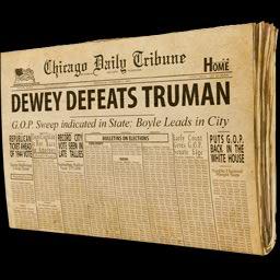 Truman Chicago Daily Tribune Newspaper US Stamp Thomas E Dewey Defeats Harry S
