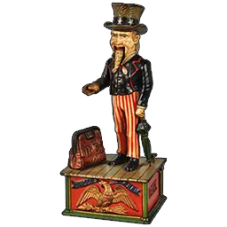 Uncle Sam Mechanical Bank | Pawn Stars: The Game Wiki