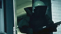 Bulldozer In Trailer Hoxton Breakout