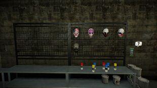Safe house masks