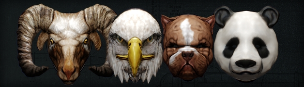 Gage Weapon Pack 01 Masks