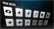 Perk decks