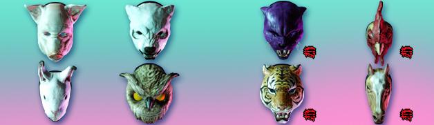 Miami banner masks