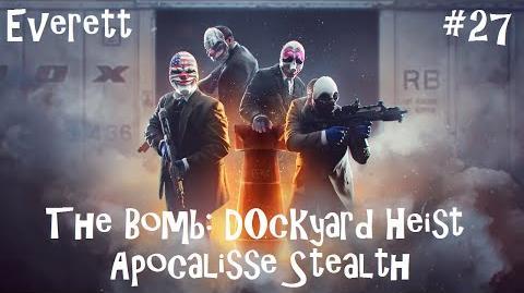 Payday 2 ITA (SUB ENG&POR&ESP) 27 Death Wish - The Bomb Dockyard Solo Stealth