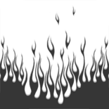 Pattern-hot-flames