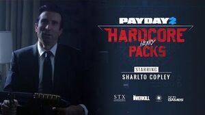 PAYDAY 2 Hardcore Henry Packs Trailer