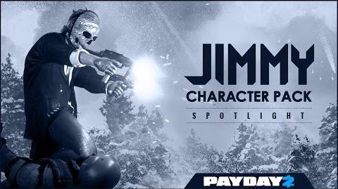 PAYDAY 2- Character Pack Spotlight - Jimmy