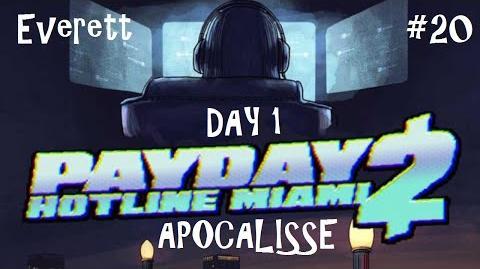 Payday 2 ITA SUB ENG 20 Death Wish - Hotline Miami Day 1
