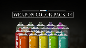 Weapon Color Pack 01