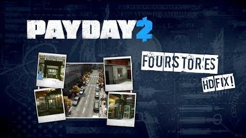 PAYDAY 2 Four Stores - Overkill (Solo) No Commentary HD-FIX