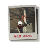 Hint weapon melee