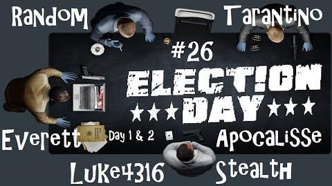 Payday 2 ITA SUB ENG 26 Death Wish - Election Day Stealth Day 1 & Day 2 w luke4316 & Random