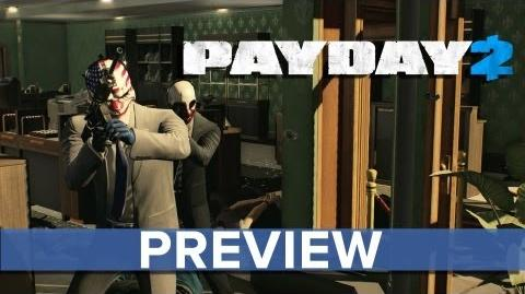 PAYDAY 2 - Preview and Brand New Gameplay - Eurogamer