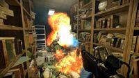 Flamethrower In Action