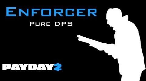 Payday 2 Enforcer Build - DPS Focus