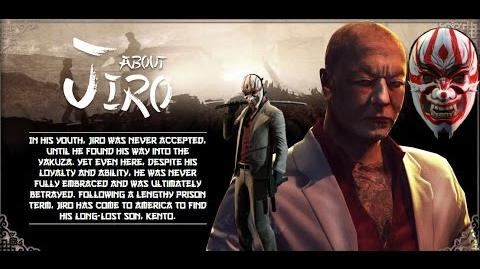 Payday 2 Jiro Quotes -- Yakuza Character Pack