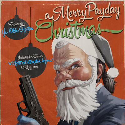 A Merry Payday Christmas front cover