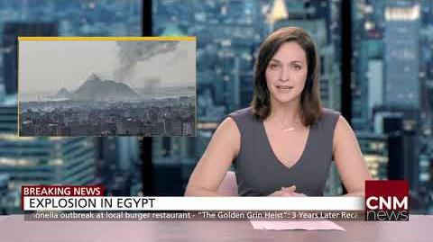 CNM Breaking News Explosion In Egypt