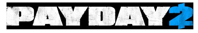 Payday2 logo white