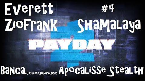 Payday 2 ITA SUB ENG 4 Death Wish - Bank (Deposit, Cash, Gold) Stealth