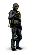 Steam Blue SWAT