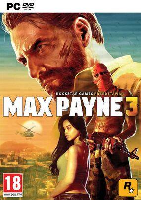 Max Payne 3 okładka