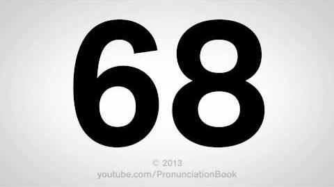 How to Pronounce 68