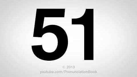 How to Pronounce 51