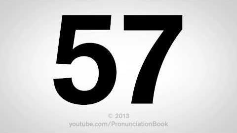 How to Pronounce 57