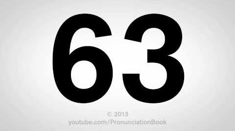 How to Pronounce 63