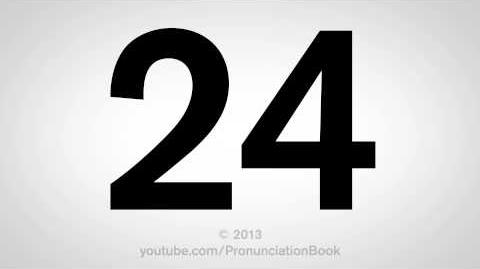 How to Pronounce 24