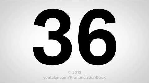 How to Pronounce 36-0