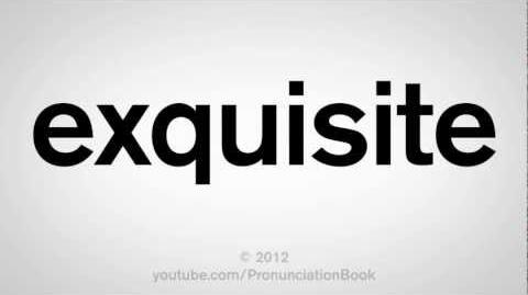 How to Pronounce Exquisite