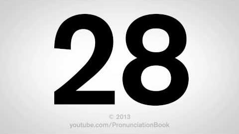 How to Pronounce 28