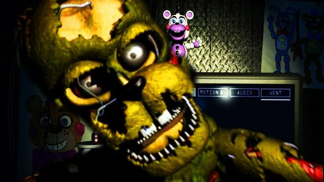 All the FNAF 6 characters and who they are | Five Nights at