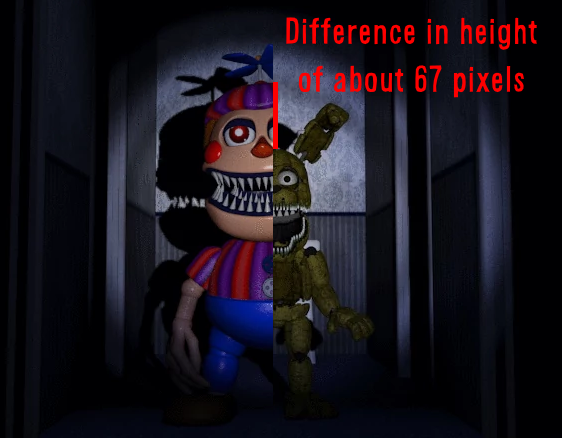 Image Nightmare Bb And Plushtrap Textpng Imagesforpbe Wikia