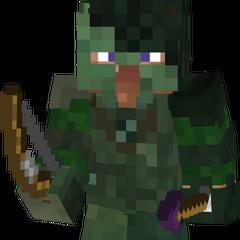 Hunter Steve w/ a poison arrow