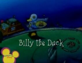 Title Display - Billy the Duck