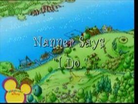 Nanner Says I Do
