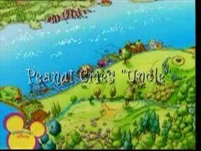 Peanut Cries Uncle