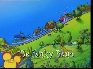 The Funky Band Title Card