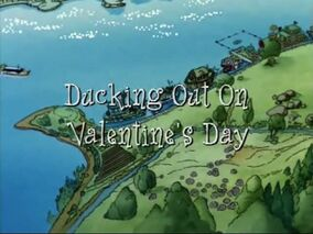 Ducking Out on Valentines Day title card