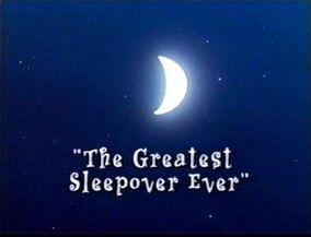 The Greatest Sleepover Everuse