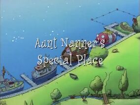 Title Display - Aunt Nanner's Special Place