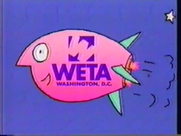 PTV Park Station ID - Rocketship (WETA May 7, 1996) screenshot